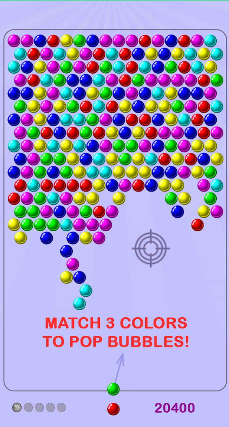 como ganar en bubble shooter