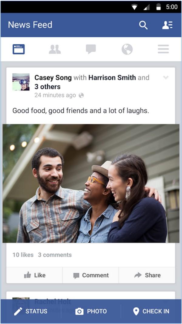 Descargar Facebook para Android d