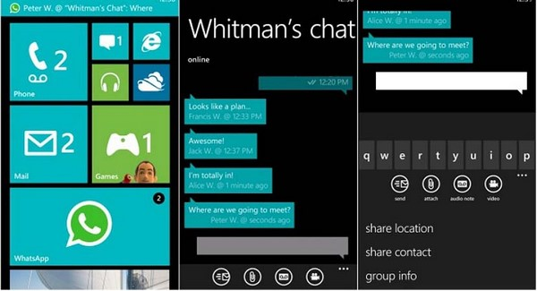 Descargar WhatsApp para Windows Phone b
