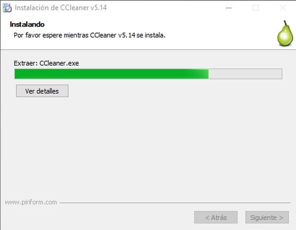 cómo instalar ccleaner f