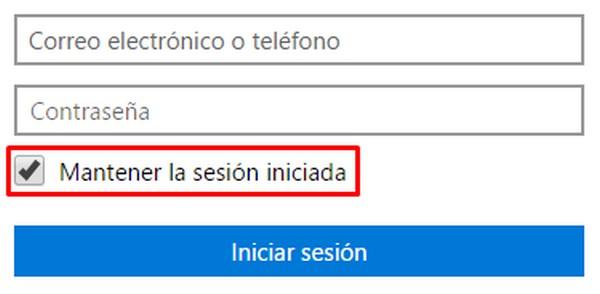 cómo entrar en Outlook.com sin contraseña b