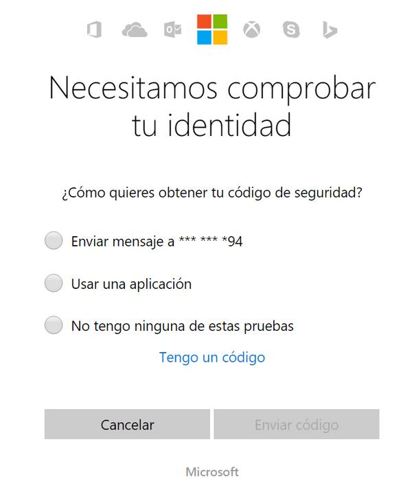 No puedo iniciar sesión en Outlook.com f