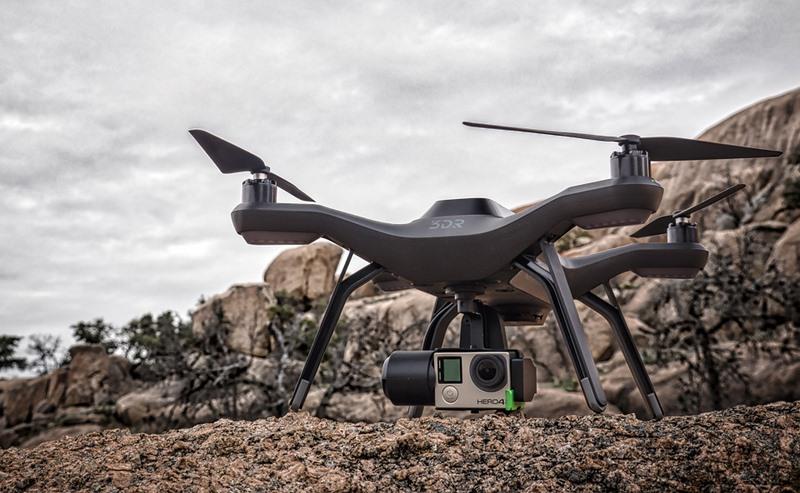 3D Robotics Solo, el drone inteligente